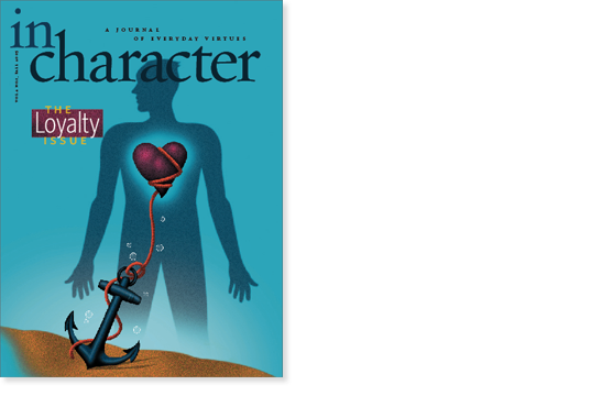 In Character cover